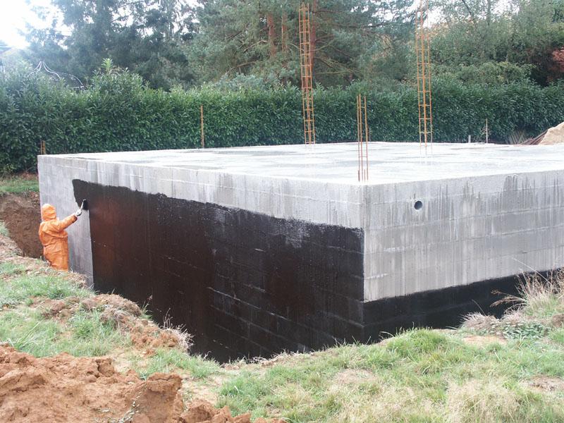 Notre projet de maison photos de la construction - Etancheite sous sol maison ...